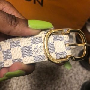 Louis Vuitton Accessories - authentic louis vuitton belt